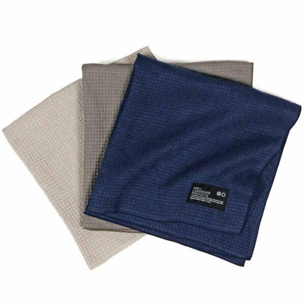 Iori co., ltd. Plain Plaid Imabari Towel